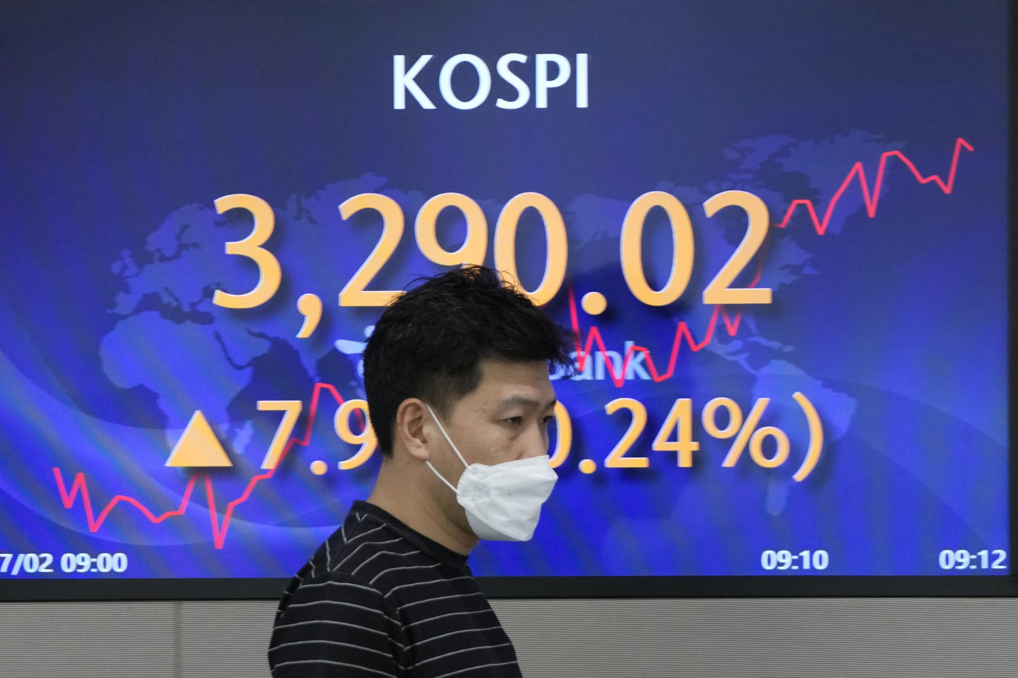 Hong Kong stocks dive more than 3% in afternoon