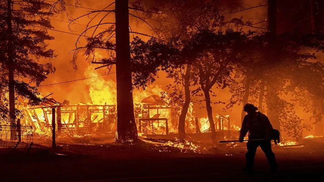 Five reported missing in huge California wildfire   International